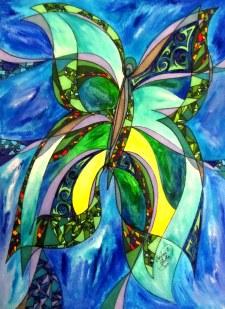 Mariposa de Hernan [Cosas de la Primavera 2012], 9x12, Hernan Valdes Torres