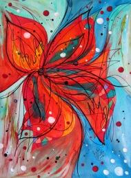 Pinwheel in a Breeze, 9x12 [2013]