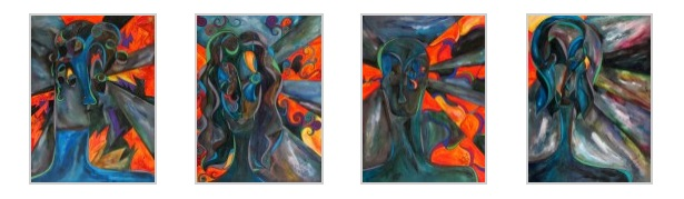 Watching Shadows, 9x12 each [4-2012].JPG