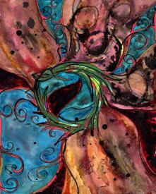 February Ouroboros, 8x10 [2013, New Beginnings]