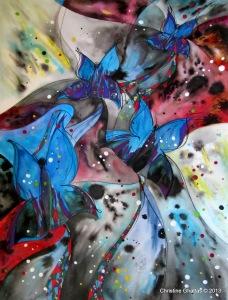 Heaven Bound, 18x24 - Enchanted Butterflies [2013]