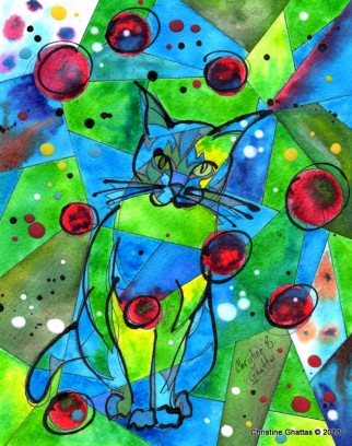Jessica's cat, Tiger -- Big Boss [Jessica Wilson]